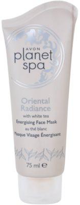 Avon Planet Spa Oriental Radiance élénkítő lehúzható arcmaszk fehér teával