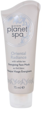 Avon Planet Spa Oriental Radiance energizująca maseczka peel-off z białą herbatą