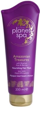 Avon Planet Spa Amazonian Treasures máscara nutritiva para cabelo