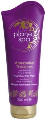 Avon Planet Spa Amazonian Treasures vyživující maska na vlasy