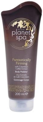 Avon Planet Spa Fantastically Firming zpevňující tělový peeling s výtažky z kávy