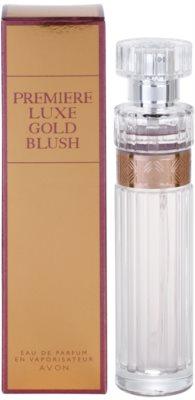 Avon Premiere Luxe Gold Blush Eau de Parfum para mulheres