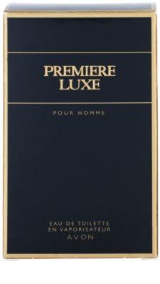 Avon Premiere Luxe eau de toilette férfiaknak 4