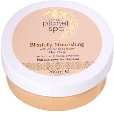 Avon Planet Spa African Shea Butter mascarilla para todo tipo de cabello