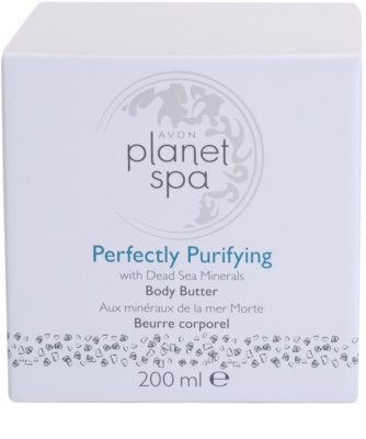 Avon Planet Spa Perfectly Purifying krema za telo z minerali Mrtvega morja 4