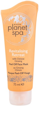 Avon Planet Spa Chinese Ginseng revitalizacijska luščilna maska za obraz