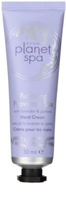 Avon Planet Spa Provence Lavender Creme hidratante para mãos com lavanda
