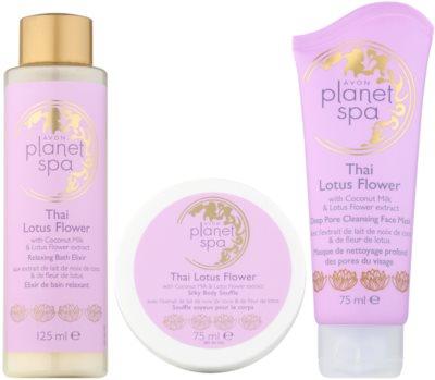 Avon Planet Spa Thailand Lotus Flower kosmetická sada I.
