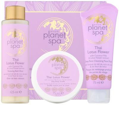 Avon Planet Spa Thailand Lotus Flower kosmetická sada I. 1