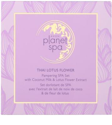 Avon Planet Spa Thailand Lotus Flower kosmetická sada I. 2