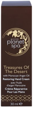 Avon Planet Spa Treasures Of The Desert crema de manos con aceite de argán 2
