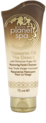 Avon Planet Spa Treasures Of The Desert crema de curățare regeneratoare  cu ulei de argan marocan