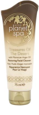 Avon Planet Spa Treasures Of The Desert obnovitvena čistilna krema z maroškim arganovim oljem