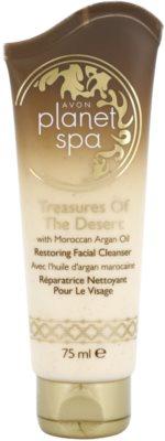 Avon Planet Spa Treasures Of The Desert възстановяващ почистващ крем с мароканско арганово масло