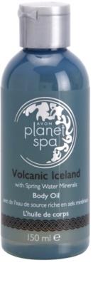 Avon Planet Spa Volcanic Iceland wärmendes Öl für Körper und Bad mit Vulkan-Mineralien und Quellwasser