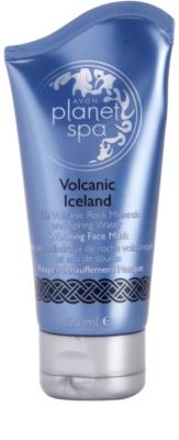 Avon Planet Spa Volcanic Iceland Máscara facial de aquecimento com minerais vulcânicos e água da nascente