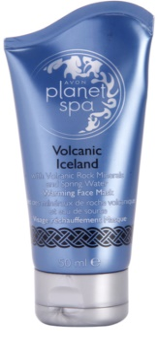 Avon Planet Spa Volcanic Iceland mascarilla facial efecto calor con minerales volcánicos y agua natural
