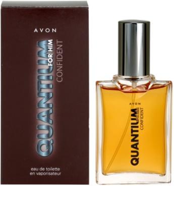 Avon Quantium Confident for Him eau de toilette férfiaknak