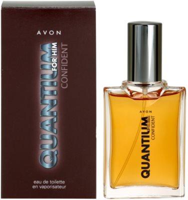 Avon Quantium Confident for Him Eau de Toilette pentru barbati