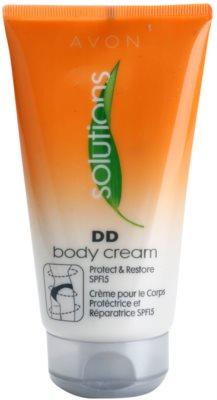 Avon Solutions DD Cream захисний та відновлюючий крем для тіла SPF 15
