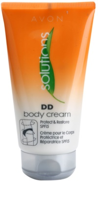 Avon Solutions DD Cream ochranný a obnovující tělový krém SPF 15