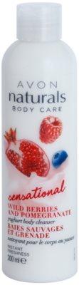 Avon Naturals Body Care Sensational lapte pentru dus cu iaurt