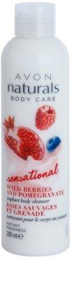 Avon Naturals Body Care Sensational mleczko pod prysznic z jogurtem