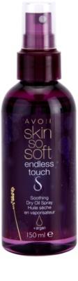 Avon Skin So Soft Endless Touch spray oleoso seco com óleo de argan