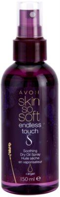 Avon Skin So Soft Endless Touch суха олійка  у формі спрею з аргановою олійкою