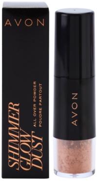 Avon Shimmer Glow Dust bronz puder v čopiču 2