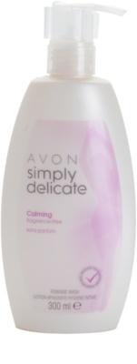 Avon Simply Delicate gel-crema calmante sin perfume para la higiene íntima
