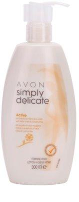 Avon Simply Delicate żel do higieny intymnej z aloesem i rumiankiem