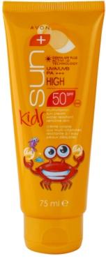 Avon Sun Kids Sonnencreme für Kinder SPF 50