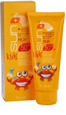 Avon Sun Kids crema solar para niños SPF 50 2