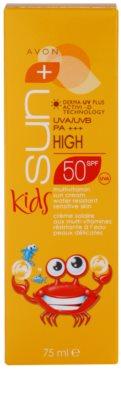 Avon Sun Kids crema solar para niños SPF 50 3