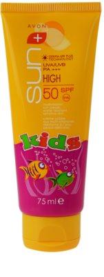 Avon Sun Kids wodoodporny krem do opalania dla dzieci SPF 50