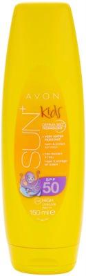 Avon Sun Kids loción solar naranja altamente resistente al agua   SPF 50