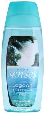Avon Senses Lagoon Clean and Refreshing osvežujoč gel za prhanje 1