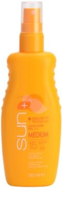 Avon Sun зволожуюче молочко для засмаги SPF 15