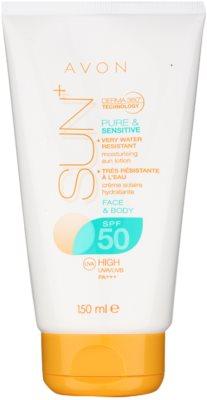 Avon Sun wasserfeste Sonnenmilch SPF 50