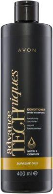 Avon Advance Techniques Supreme Oils intenzív tápláló kondicionáló luxus olajokkal minden hajtípusra