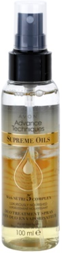 Avon Advance Techniques Supreme Oils spray nutritivo intensivo com óleos luxuosos para todos os tipos de cabelos