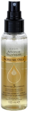 Avon Advance Techniques Supreme Oils intensives, nährendes Spray mit luxuriösem Öl für alle Haartypen 1