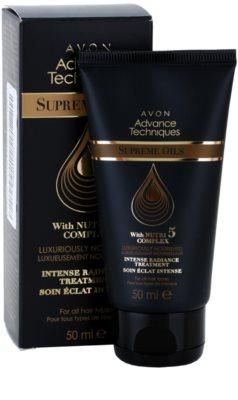 Avon Advance Techniques Supreme Oils інтенсивна поживна сиворотка з розкішними маслами для всіх типів волосся 2