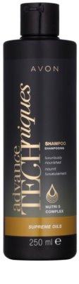 Avon Advance Techniques Supreme Oils intensives, nährendes Shampoo mit luxuriösem Öl für alle Haartypen