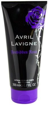 Avril Lavigne Forbidden Rose Lapte de corp pentru femei