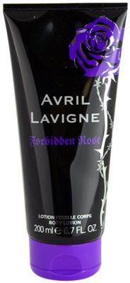 Avril Lavigne Forbidden Rose telové mlieko pre ženy