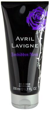 Avril Lavigne Forbidden Rose gel de ducha para mujer