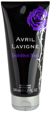 Avril Lavigne Forbidden Rose gel de duche para mulheres