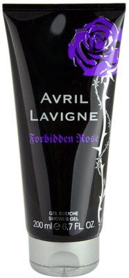Avril Lavigne Forbidden Rose gel de dus pentru femei